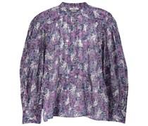 Bluse Adigra aus Baumwoll-Georgette