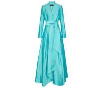 Robe aus Shantung-Seide