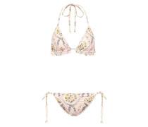 Bedruckter Bikini Riviera