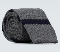 Gestreifte Krawatte aus Wolle