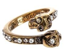 Verzierter Ring aus Messing