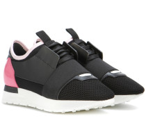 Sneakers Race Runner mit Leder