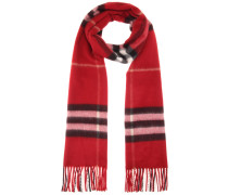 Karierter Schal aus Cashmere