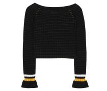 Pullover aus Stretch-Baumwolle