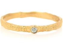 Vergoldeter Ring Roxy Love mit Diamant