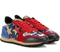 Garavani Sneakers Rockrunner Starstudded mit Denim