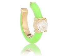Ear Cuff Aria U aus 18kt Gelbgold mit Diamanten