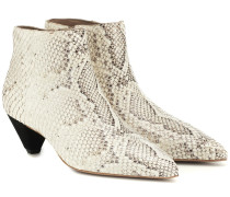 Ankle Boots Julienne aus Leder