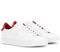 Sneakers Low Top Knots aus Leder