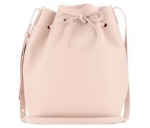 Bucket-Bag aus Leder
