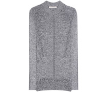 Pullover aus Metallic-Garn