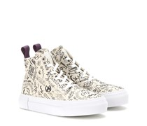 High-Top-Sneakers Odyssey mit Print