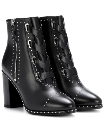 Ankle Boots Guns & Roses 85 aus Leder