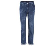 Cropped Jeans Boyfriend Star