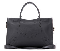 Tasche Blackout City Small aus Leder