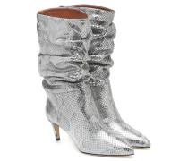 Metallic-Stiefel