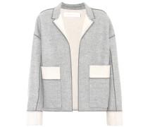 Jacke aus Wolle und Cashmere