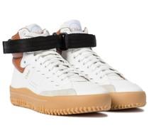 High-Top-Sneakers Franckie aus Leder