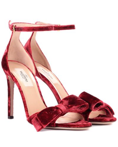 Garavani Sandalen aus Samt
