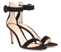 Sandaletten Portofino aus Veloursleder