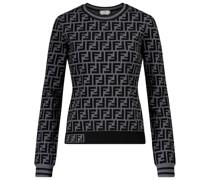 Sweatshirt FF aus Jersey