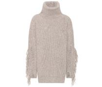 Strickpullover aus Cashmere und Wolle