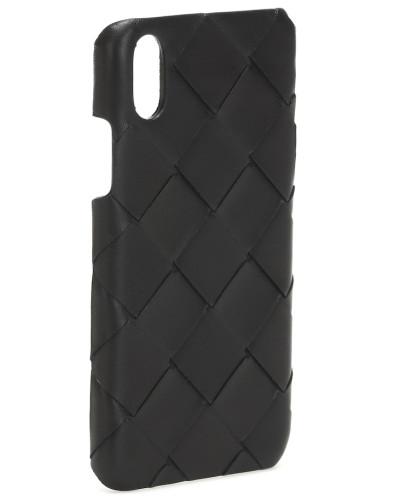Hülle für iPhone X aus Leder