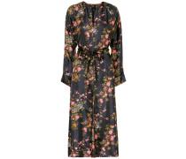 Bedrucktes Kleid Olympia aus Seide