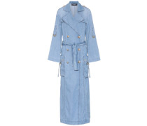 Mantel aus Baumwoll-Denim