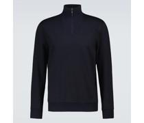Pullover Mezzocollo aus Wolle