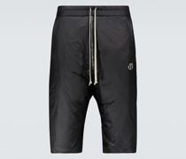 Moncler + Wattierte Shorts