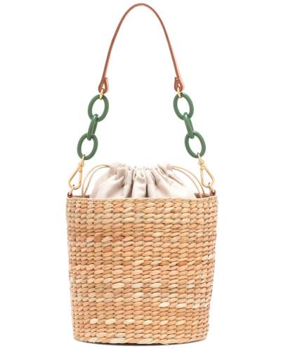 Bucket-Bag Colette aus Seegras