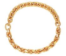 Vergoldete Halskette aus Silber