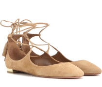 Ballerinas Boheme aus Veloursleder