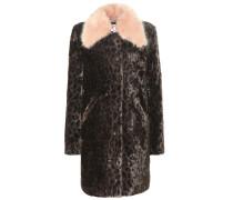 Mantel Piper aus Faux Fur