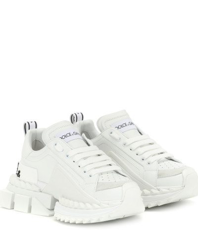 Sneakers Super Queen aus Leder
