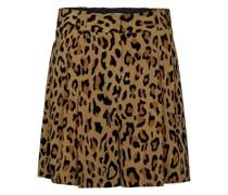 Bedruckte Shorts Fell aus Seide