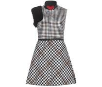 Kariertes Kleid aus Schurwolle