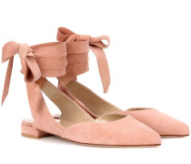 Ballerinas Supersonic aus Veloursleder