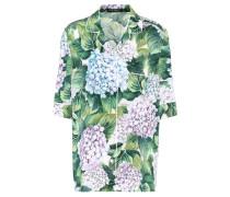 Bedrucktes Hemd aus einem Seidengemisch