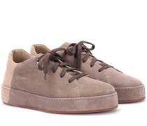 Sneakers Nuages aus Veloursleder