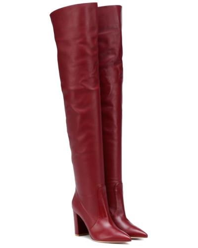 Overknee-Stiefel Morgan 85 aus Leder