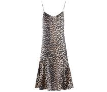 Bedrucktes Kleid Dufort aus Stretch-Seide