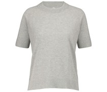 T-Shirt aus Baumwolle und Kaschmir