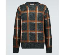 Pullover aus Merinowolle und Wolle