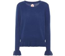 Pullover aus einem Woll-Cashmeregemisch