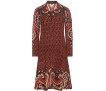 Printkleid aus Wolle