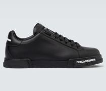 Sneakers Port Light aus Leder
