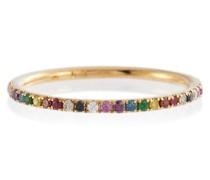 Ring Thread Band aus 18kt Gelbgold