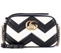 Crossbody-Tasche GG Marmont Small aus Leder